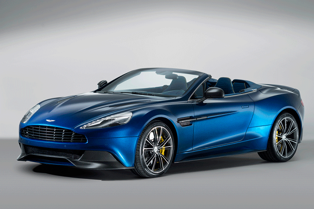 Most expensive cars: Aston Martin Vanquish Volante | Basel Shows