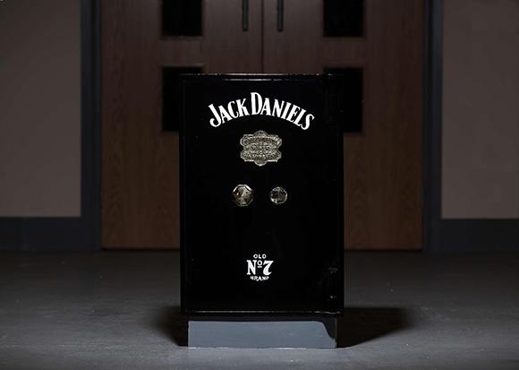 """ Jack Daniels Safe box by Crest safes"""