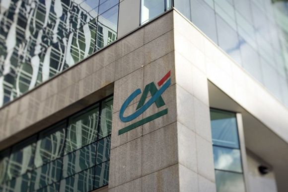 Credit agricole French bank