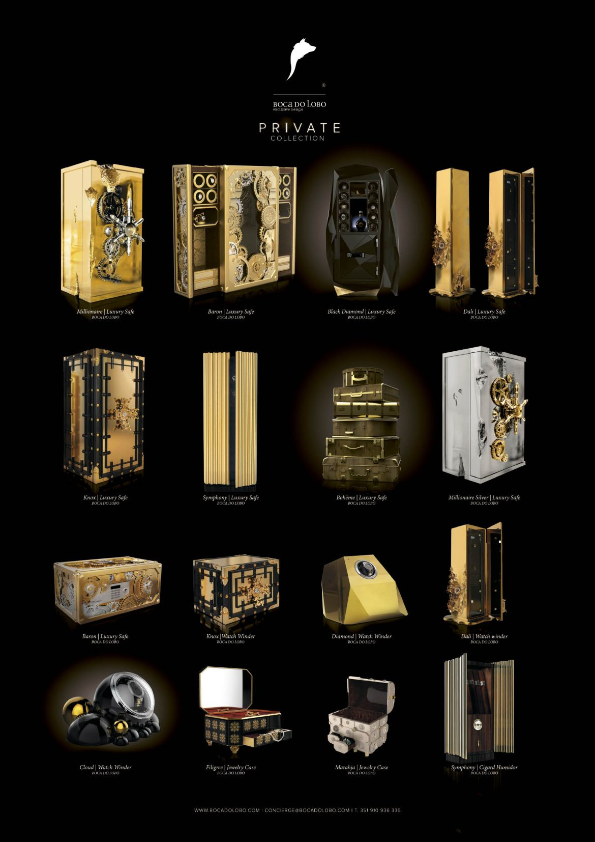 Luxury Safes by the Hand of Master Artisans - Boca do Lobo - Private Collection  Luxury Safes by the Hand of Master Artisans PRIVATE3