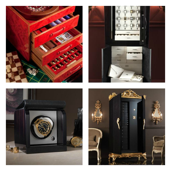Luxury Safes by the Hand of Master Artisans - Agresti  Luxury Safes by the Hand of Master Artisans Top Luxury Brands you must see at Baselworld 2014 Agresti