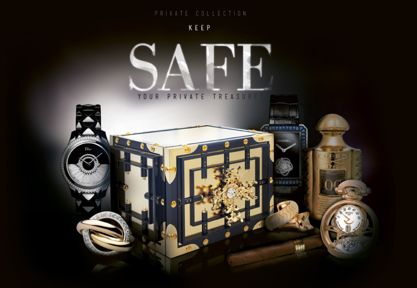 Luxury Safes by the Hand of Master Artisans - Boca do Lobo - Private Collection  Luxury Safes by the Hand of Master Artisans Top Luxury Brands you must see at Baselworld 2014 Boca do Lobo Private Collection