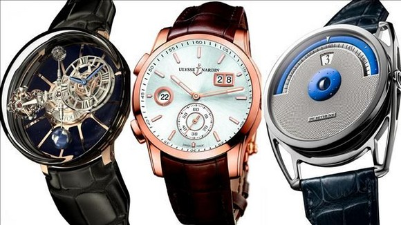 """""""Watch expert Michael Clerizo picks out three of the best: from the Ulysse Nardin Dual Time Manufacture to Jacob's Astronomia Tourbillon. """"  Three Luxury Watches you don't wanna miss at Baselworld with video Three Must See Watches at Baselworld 2014"""