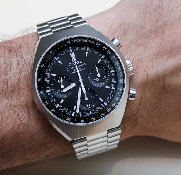 Omega Speedmaster Mark II  Top 10 Watches Of Baselworld 2014 Omega Speedmaster Mark II Coaxial 13