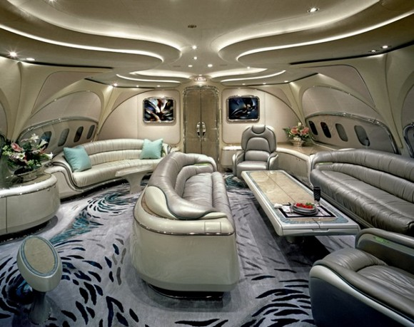 The private jet itself it's an extreme luxury form, but the interiors of it can be also. private jets interiors Extreme Luxury: Inside Private Jets Interiors luxury interiors private jets basel shows