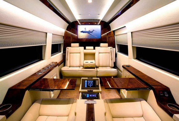 The private jet itself it's an extreme luxury form, but the interiors of it can be also. private jets interiors Extreme Luxury: Inside Private Jets Interiors modern design interiors of a luxury private jet