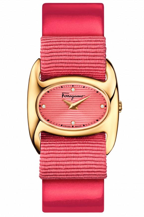 FERRAGAMO_VARINA  Varina, a new Salvatore Ferragamo Timepiece presented at Baselworld FERRAGAMO VARINA e1426862810704