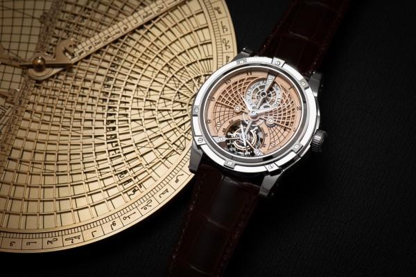 Louis Moinet (1768 - 1853) was the inventor of the chronograph. | Astrolabe Tourbillon  The Chronology Through the Ages Louis Moinet 2014 7273 e1425472642426
