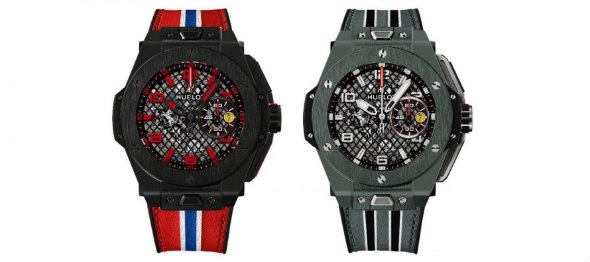 Baselshows--Preview of Big Bang Ferrari from HUBLOT-two wotches