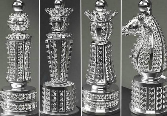 Most Expensive Chess Set With Diamonds  Most Expensive Chess Set With Diamonds Most Expensive Chess Set With Diamonds 3