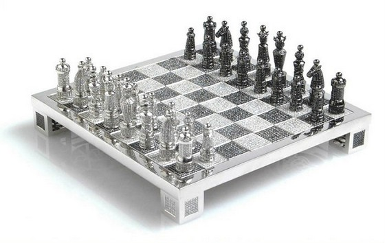Most Expensive Chess Set With Diamonds  Most Expensive Chess Set With Diamonds Most Expensive Chess Set With Diamonds 6